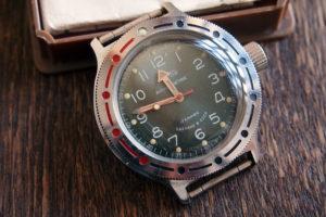 Vostok Amphibia Verde - 2409A