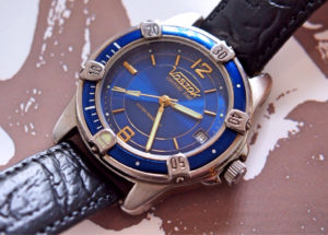Vostok Century Time Blu