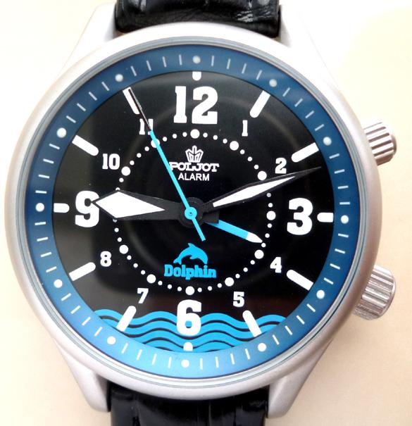 Poljot Alarm Dolphin Svegliarino Blu - 2612.1
