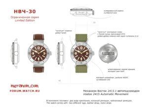 Vostok Amphibian 30ATM NVCH30 Reissue