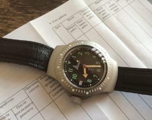 Vostok Design 6Э4-2 Ratnik Navy