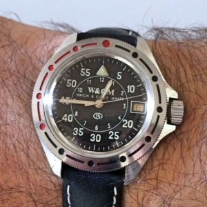 Vostok W&CM Black - Watch & Clock Maker