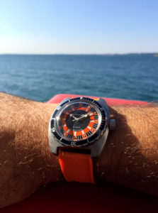 Vostok Amphibia SE150L07 Orange - 2416B