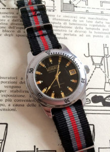 Vostok Century Time Water Resistant Black - 2416B
