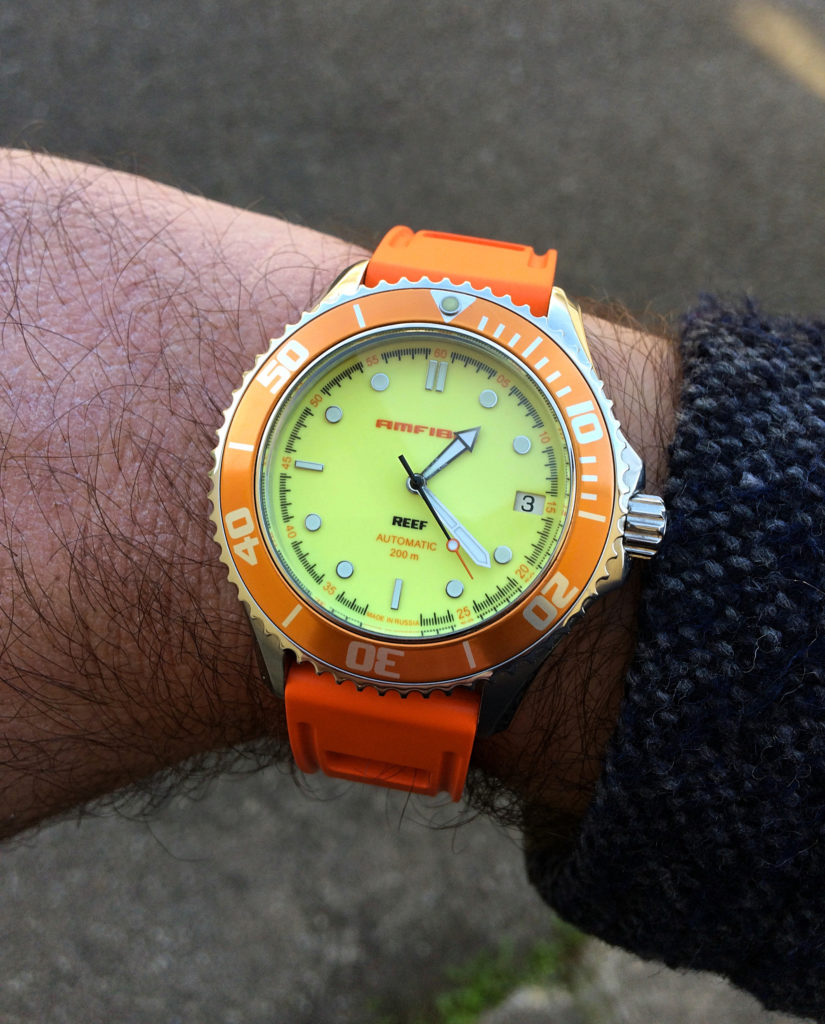 Vostok Amfibia Reef Orange 2416-080517