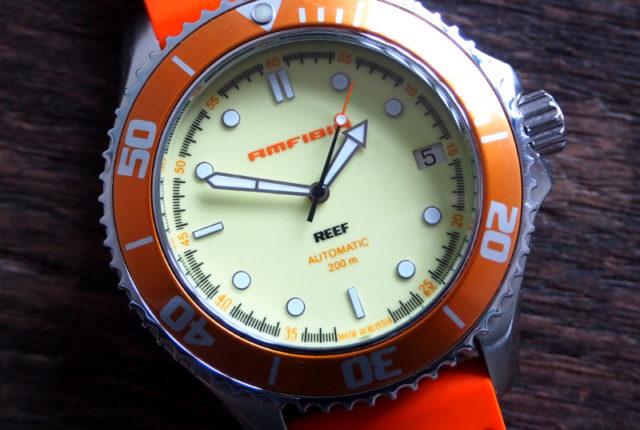 Vostok Amfibia Reef Orange 2416-080517